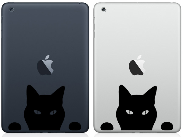 Cat iPad Mini Decals