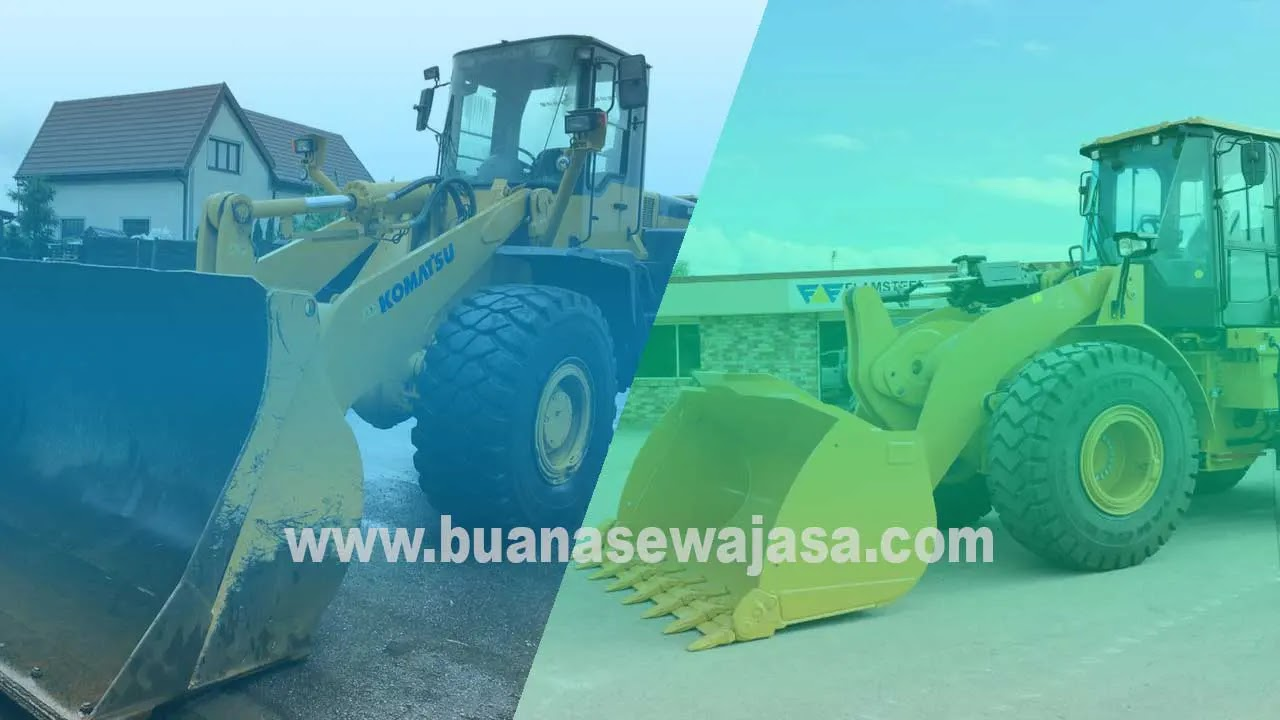 Harga Sewa Rental Alat Berat Wheel Loader
