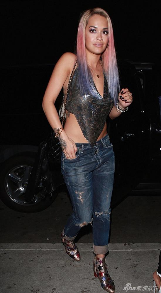 Rita Ora Lu America back nightclub Carnival