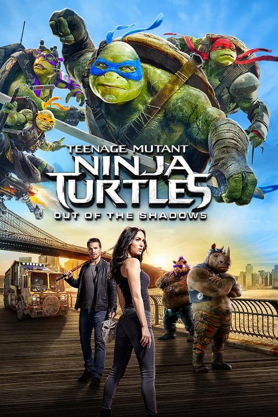 لاکپشتهای نینجای نوجوان جهشیافته: خارج از سایهها