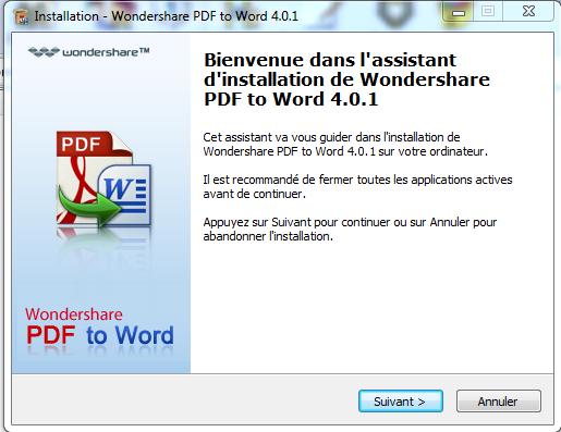 التحويل من PDF الى Word