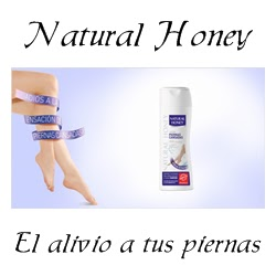 natural honey piernas cansadas