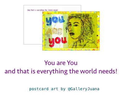postcard art by GalleryJuana
