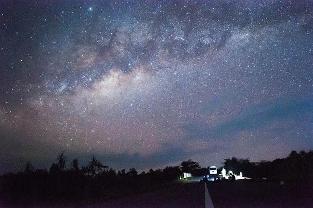 Bisakah kita melihat galaksi bimasakti dengan mata telanjang