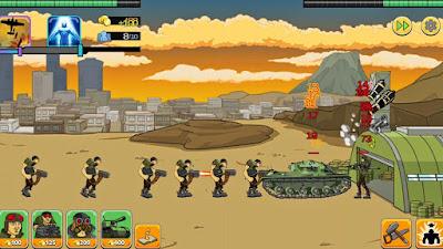 لعبة Age of War 2 للاندرويد مهكرة, تحميل لعبة Age of War 2 apk مهكرة