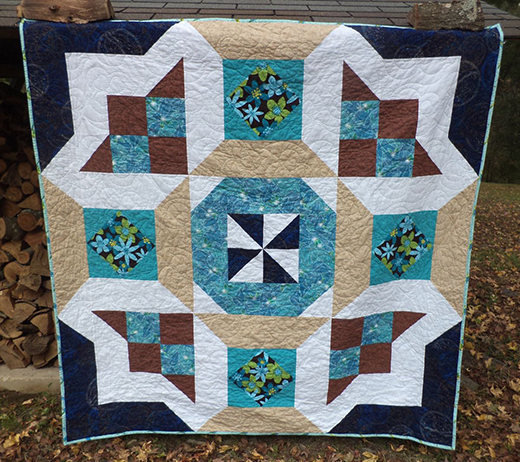 Watermelon Taffy Quilt Free Pattern