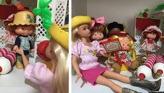 Susi e Coleção de bonecas Moranguinho