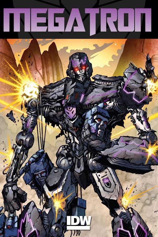 transformers megatron comics