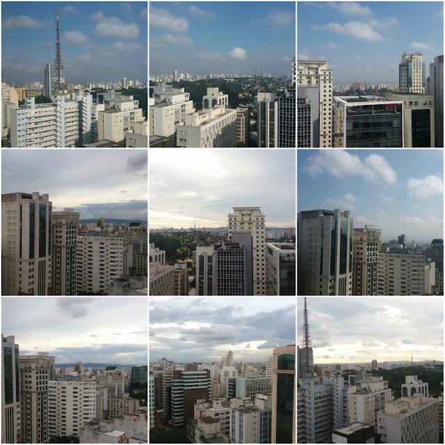 Como é se hospedar no Ibis Budget Paulista em São Paulo? Vista do último andar