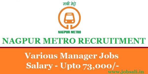 Metro Jobs, Metro Railway Jobs, Contract Manager Jobs in Nagpur