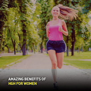 Health benefits of HGH for women