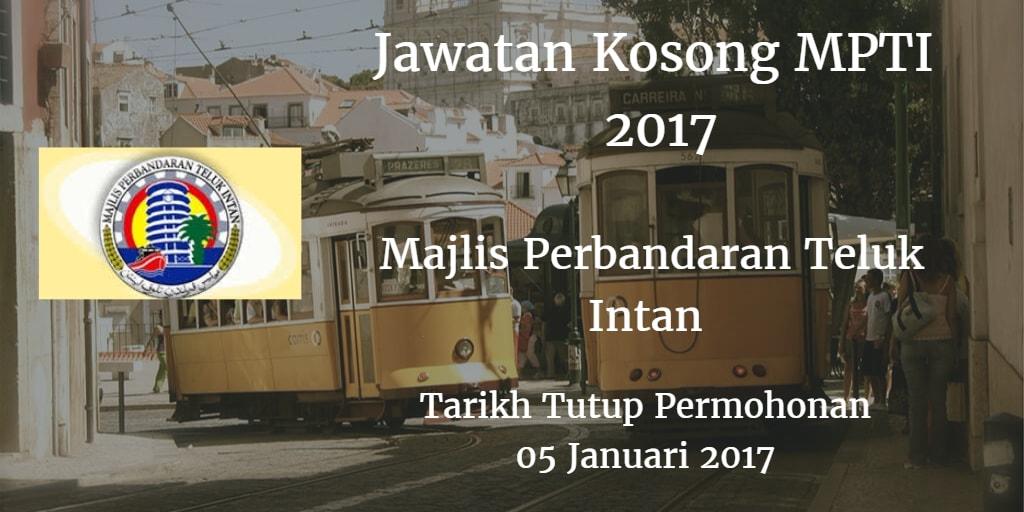 Jawatan Kosong MPTI 06 Januari 2017
