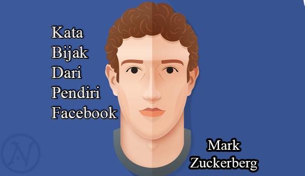 Kata Bijak Dari Pendiri Facebook Mark Zuckerberg Actionesia