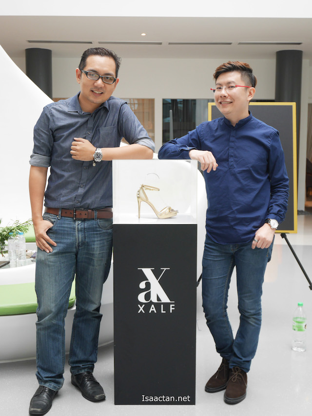 With one of the founders of XALF, Xavier