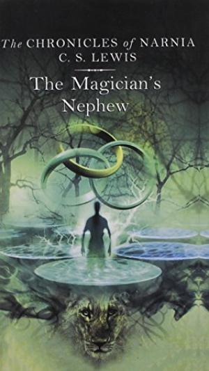 Book cover for C S Lewis's The Magician's Nephew in the South Manchester, Chorlton, and Didsbury book group