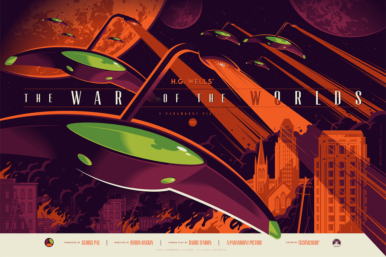 Cool Book Cover Zone : The geeky nerfherder movie poster art war of