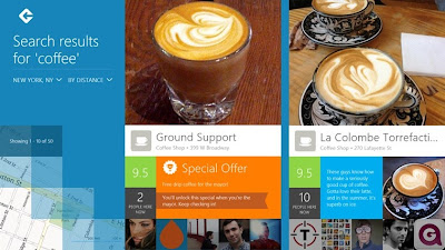Foursquare for Windows 8 and RT