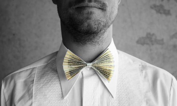 Como hacer una Corbata-Pajarita de Papel