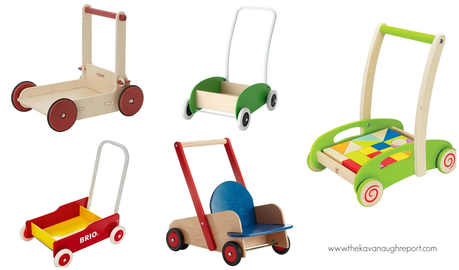 Montessori Friendly Push And Pull Toys