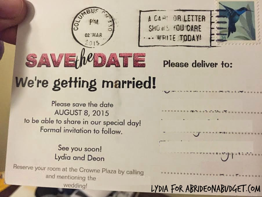 What You Need To Know About Your Save The Date Post Cards A Bride