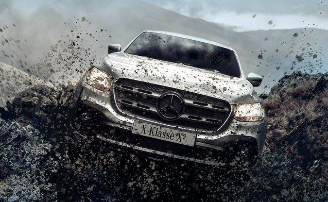 Mercedes-Benz apresenta novos pacotes off-road para a X-Class