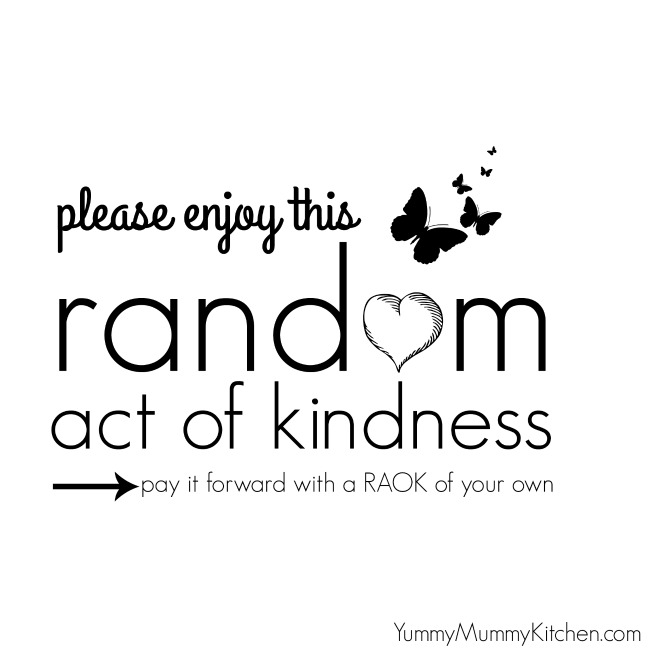 One Random Act Of Kindness At A Time Quote: 65 Random Acts Of Kindness {Ideas For Kids}