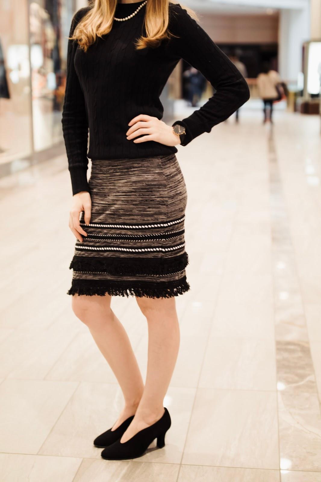 Thierry-Rabotin-shoes-make-me-chic-fringe-skirt