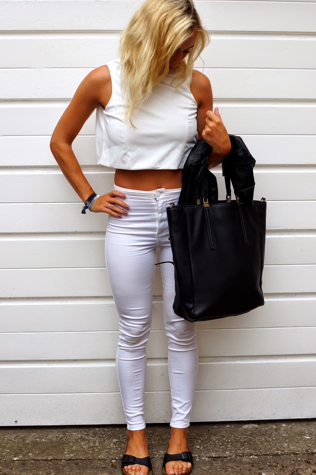 lavish alice crop top zip back