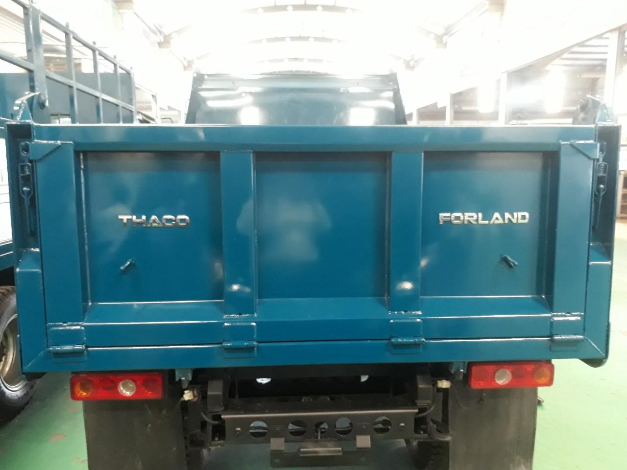 Giá xe ben thaco 2.5 tấn Euro4 tại Hải Phòng