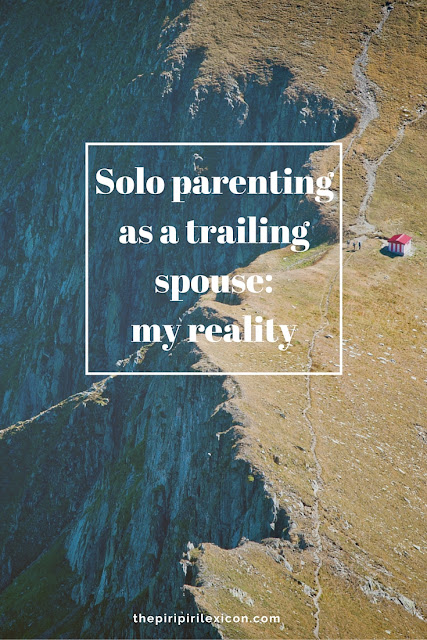 Solo parenting as a trailing spouse