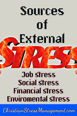 Sources of stress - external