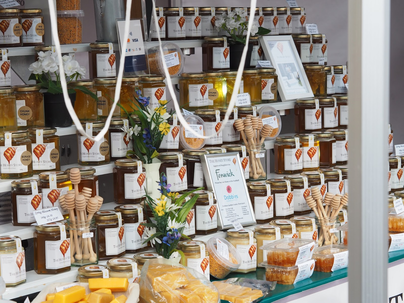 the honey store newcastle quayside street food market