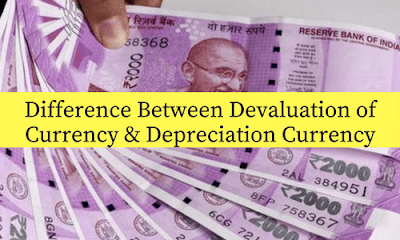 Devaluation of Currency vs Depreciation Currency