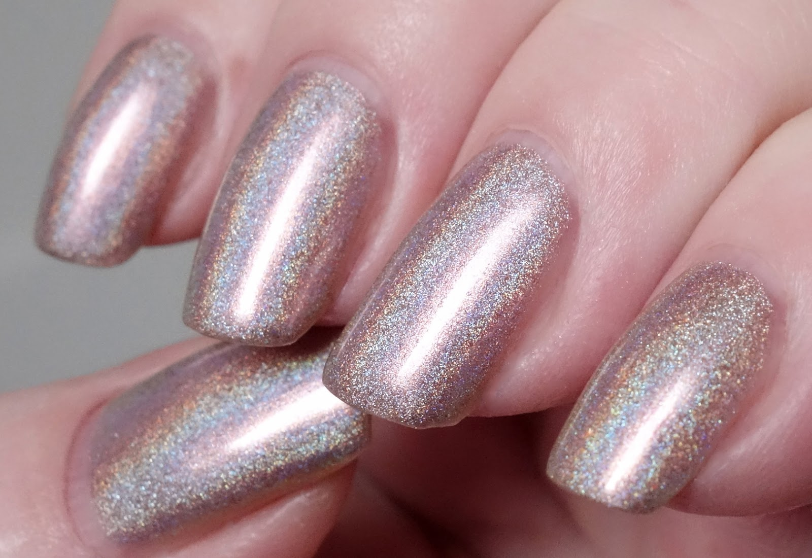 Lacquer Slacker Liz: Grace-full Nail Polish 4am Latte