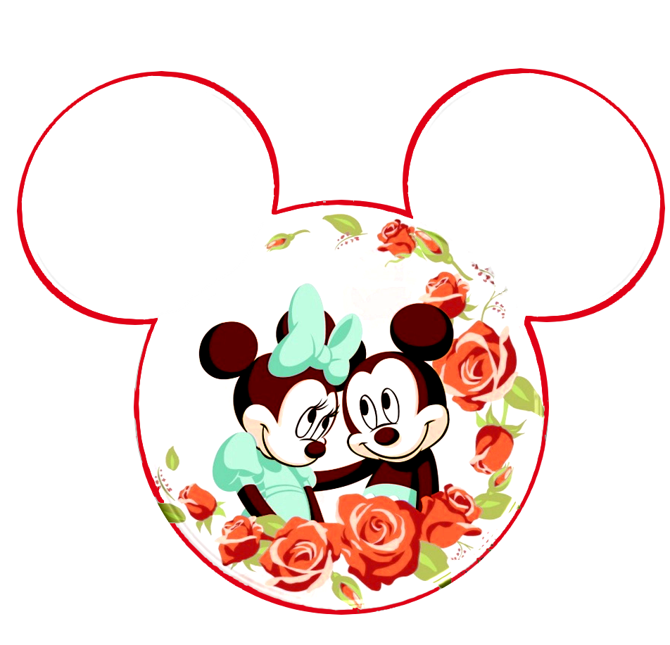 Minnie And Mickey In Love Cute Images Oh My Fiesta In