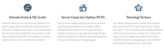 Fitur Premium hosting24