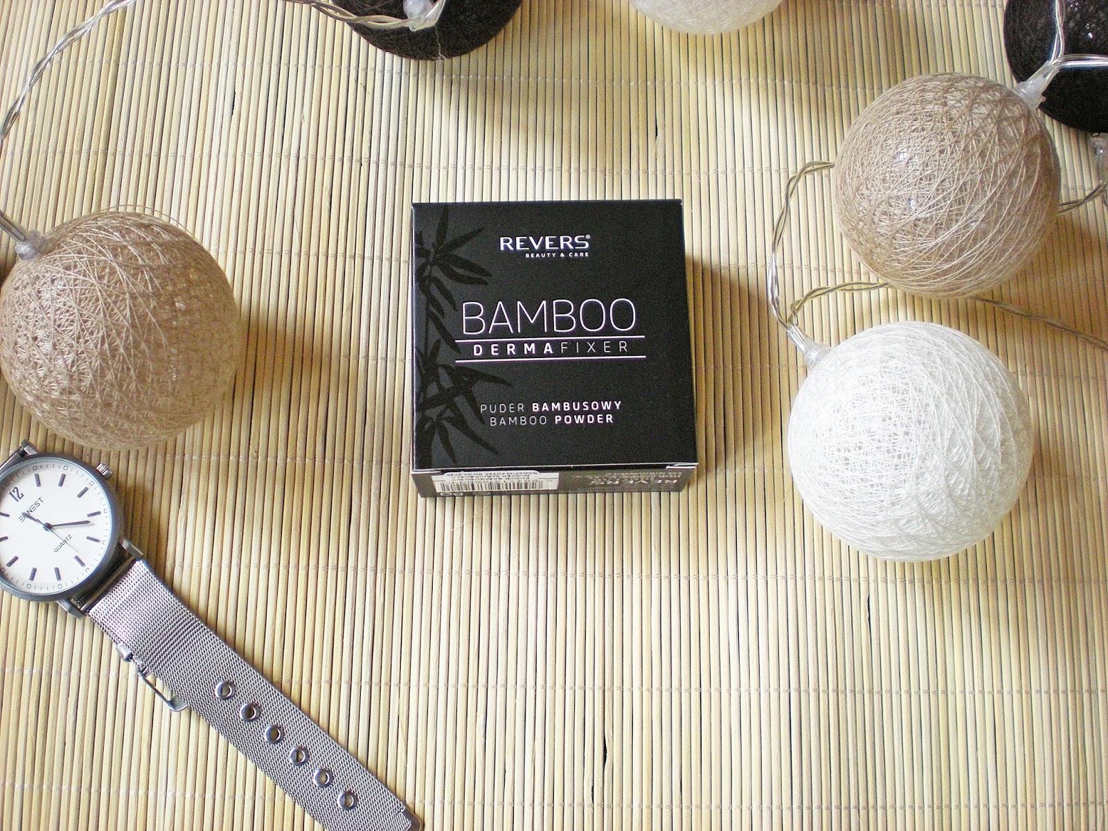 Puder bambusowy od Revers Cosmetics