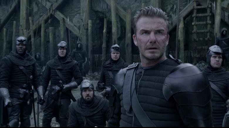 Buruknya Akting David Beckham di 'King Arthur: The Legend of the Sword'