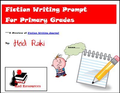 Free fiction writing prompt from Raki's Rad Resources