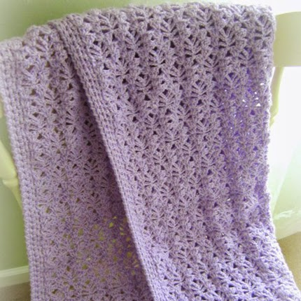 Lacy Baby Blanket - Free Pattern