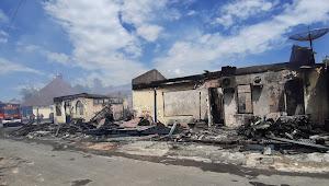 Gedung Polres Lamsel Terbakar, Tahanan Berhasil di Evakuasi