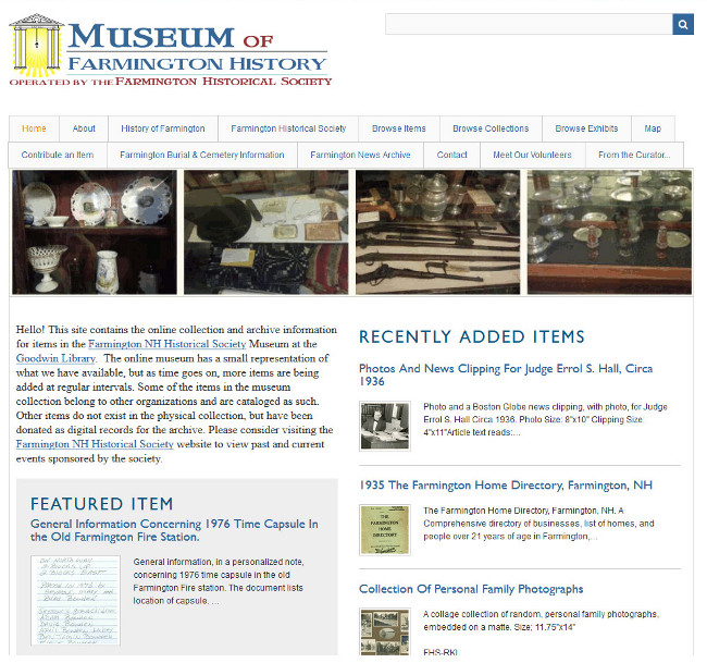 Blasts From The Past- The #Museum Of #Farmington #NH #History