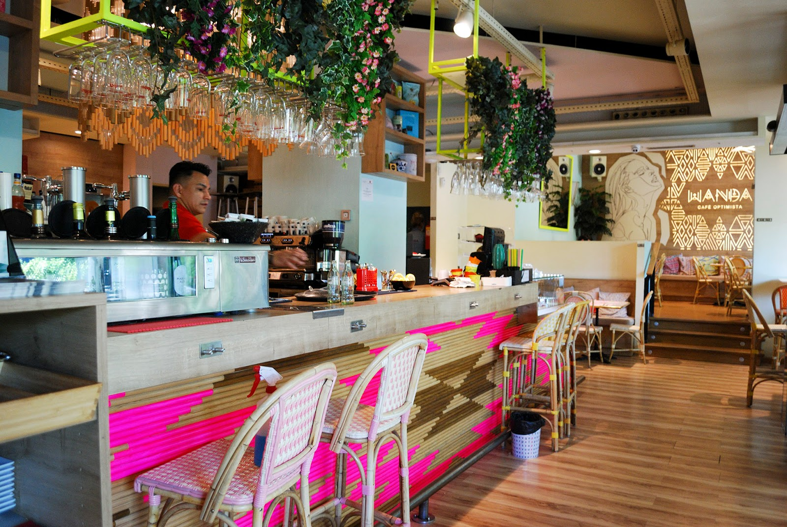 wanda cafe optimista madrid instagrammable