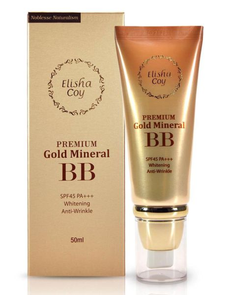 ElishaCoy Premium Gold Mineral BB Cream Review