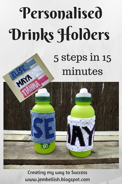 Personalised Drink Bottle Holder