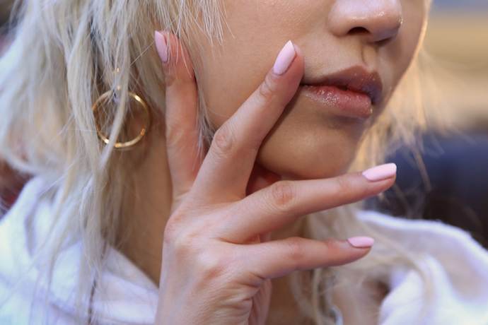 NYFW Fall/Winter 2016 nail trends Alexander Wang