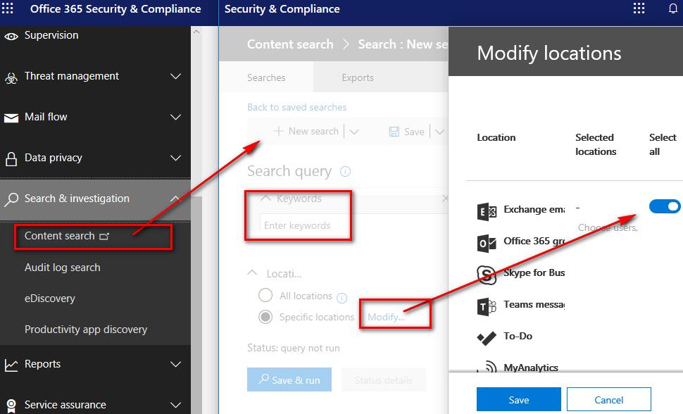 Technology: Microsoft Exchange Online Powershell