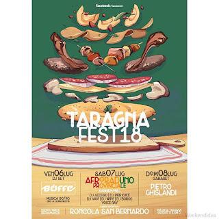 Taragnafest 6-7-8 luglio Roncola San Bernardo (BG)