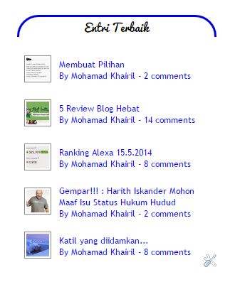 Tutorial : Letak Widget Random Post