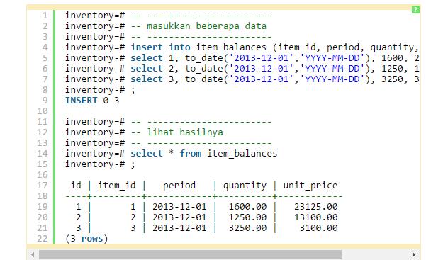 Source code Perhitungan Stok barang dan Harga Barang INventory untuk Aplikasi Web PHP & Mysql